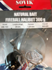 Natural bait fireball halibut 300 g 8/0+3/0 Stinger